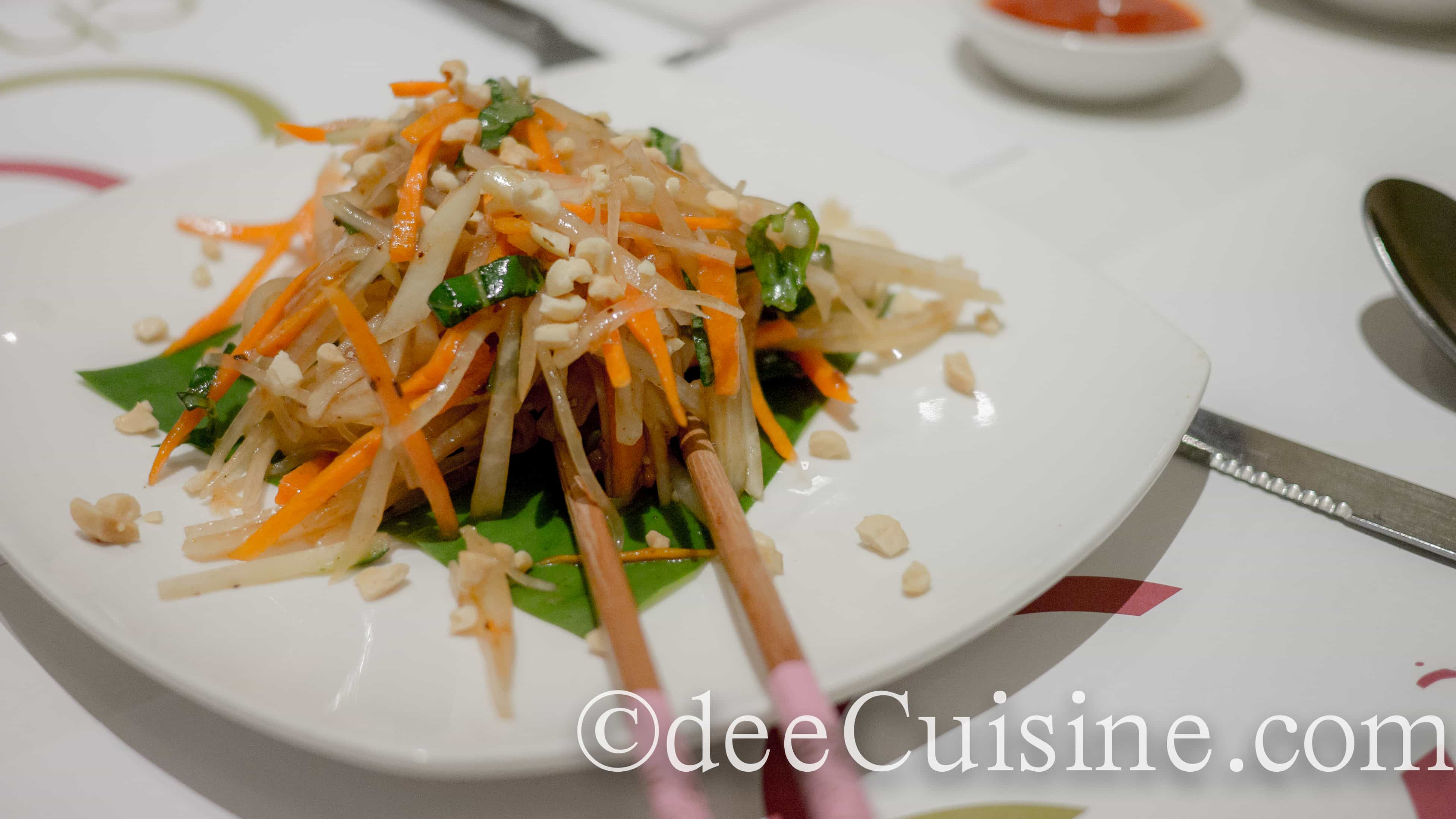 Indian thai fusion at chal chilli in nyc dee cuisine for Aura thai fusion cuisine new york ny
