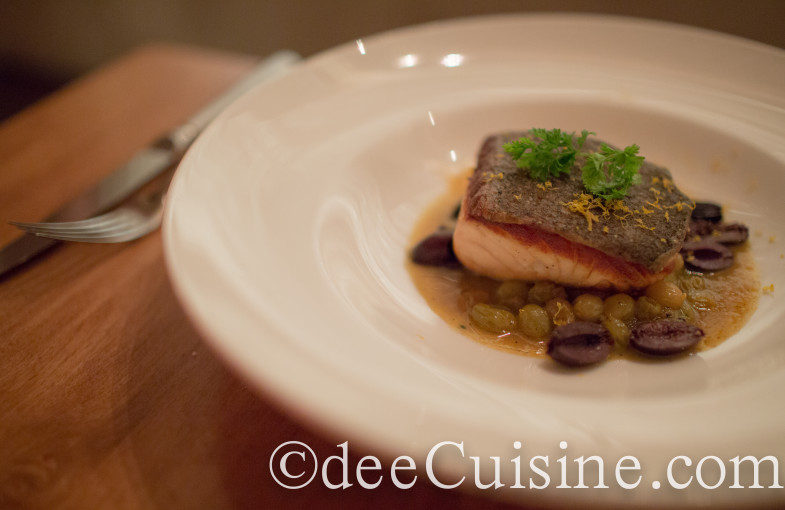 Pan roasted Scottish salmon