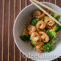 dee Cuisine's Shrimp & Broccoli