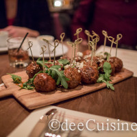 Cask Republic Smoked Short Rib Meatballs