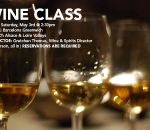 Barcelona Greenwich Wine Class May 3, 2014