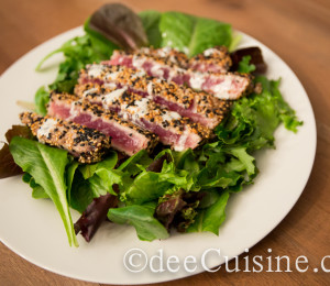 Sesame Crusted Ahi Tuna by dee Cuisine