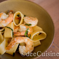Shrimp and Calamari Shaped Pasta