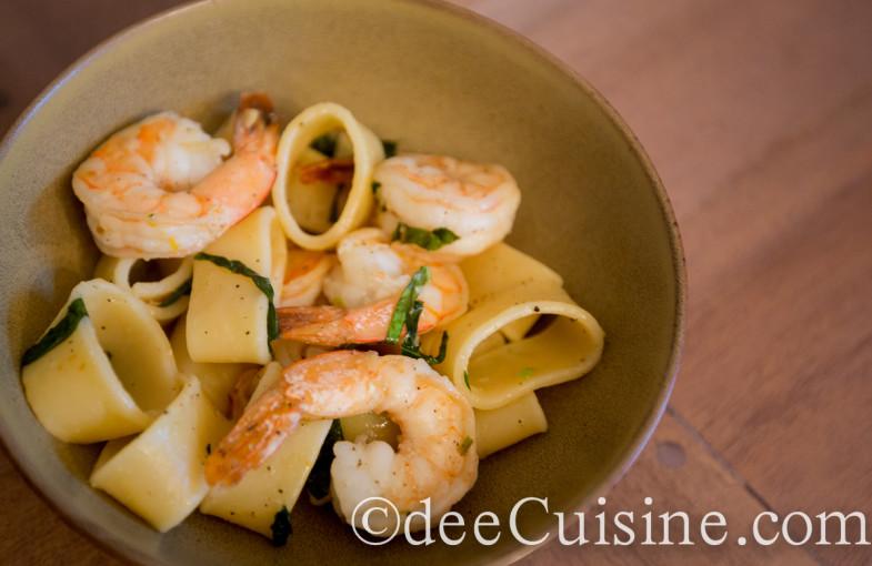 Shrimp and Calamari Shaped Pasta