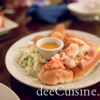 Lobster Roll at Harbour House