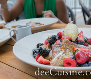Brioche French Toast at Vespa